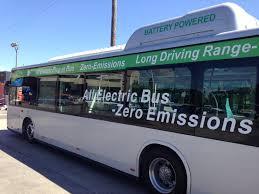 Elektrisk buss med null utslipp